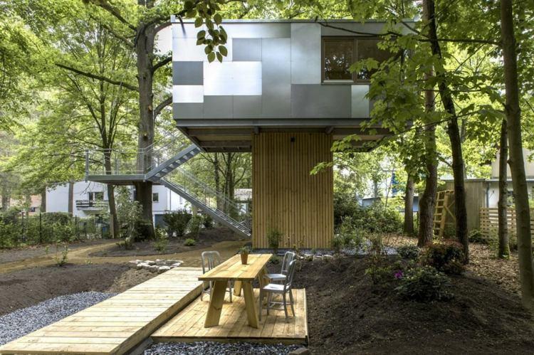Cabane Dans Les Arbres Une Maison Perche Super Originale