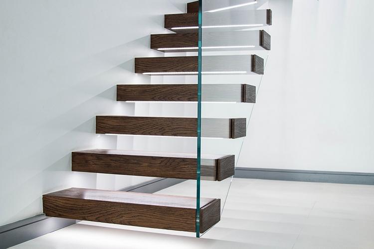 Placard Suspendu Escalier Ide Inspirante