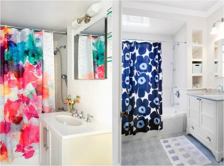 rideau de douche pour une petite salle