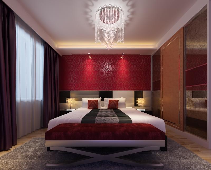 chambre rouge inspirations en 25