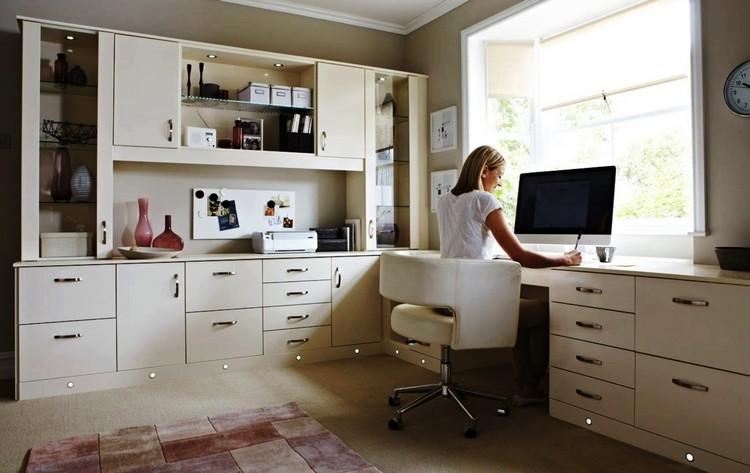 amenagement bureau idees spots led amenagement bureau a la maison en 52 idees decoratives superbes bureau a domicile