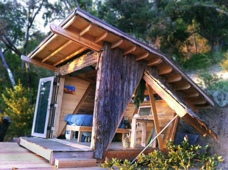 cabane de jardin moderne et