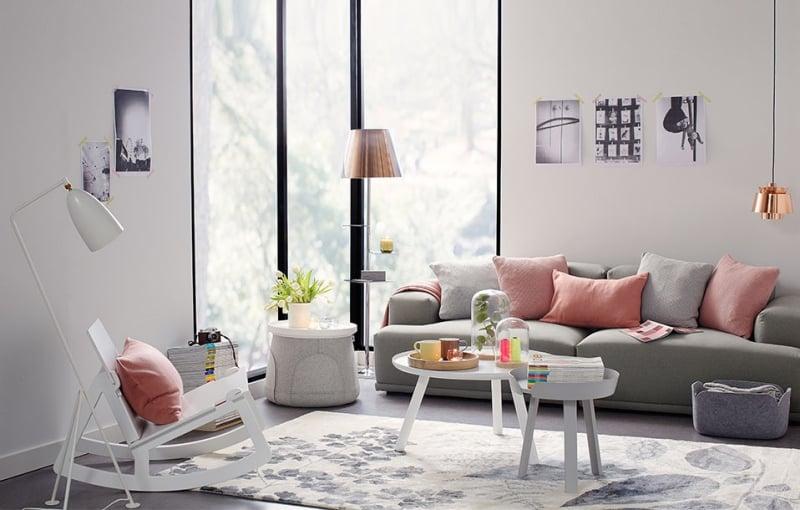 Salon En Couleur Pastel Ides Sur La Dcoration Et Le