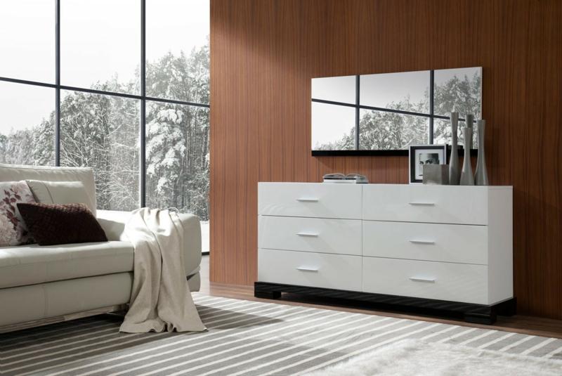 Buffet Blanc Laqu Design En 14 Ides Modernes Et Lgantes