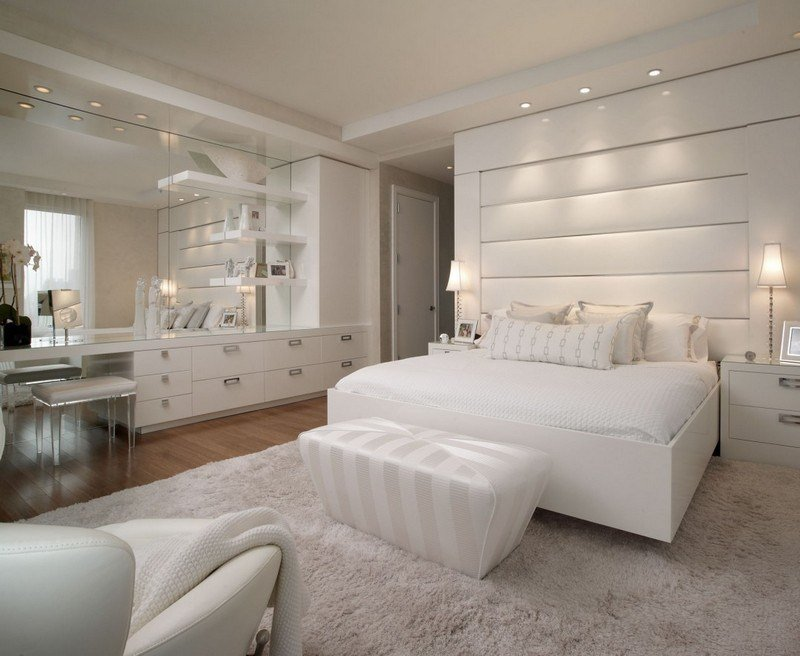 chambre adulte blanche 80 idees pour