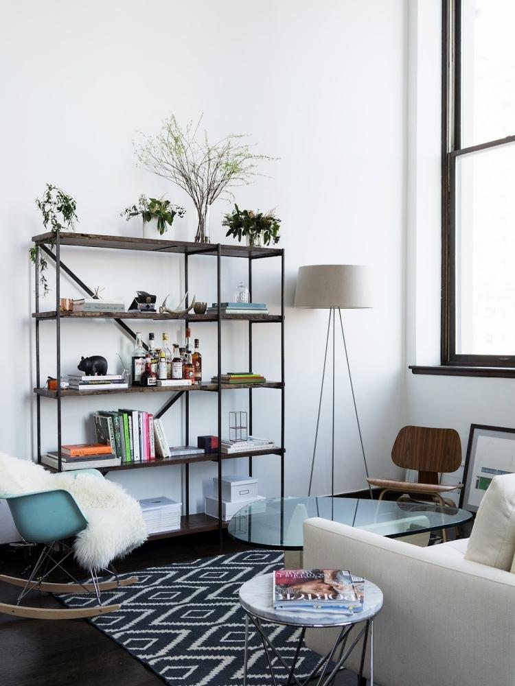 Dco Salon Moderne Pour Une Atmosphre Chaleureuse
