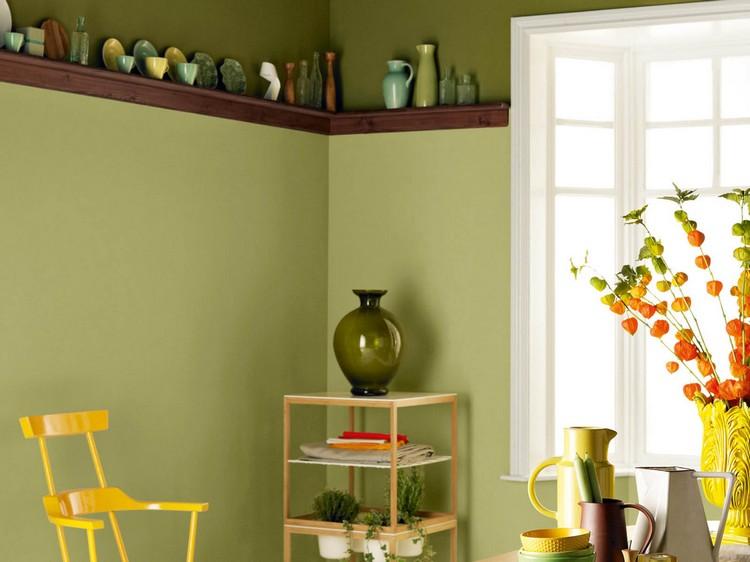 Cuisine Vert Olive Couleur Dans La Cuisine Osez Le Vert