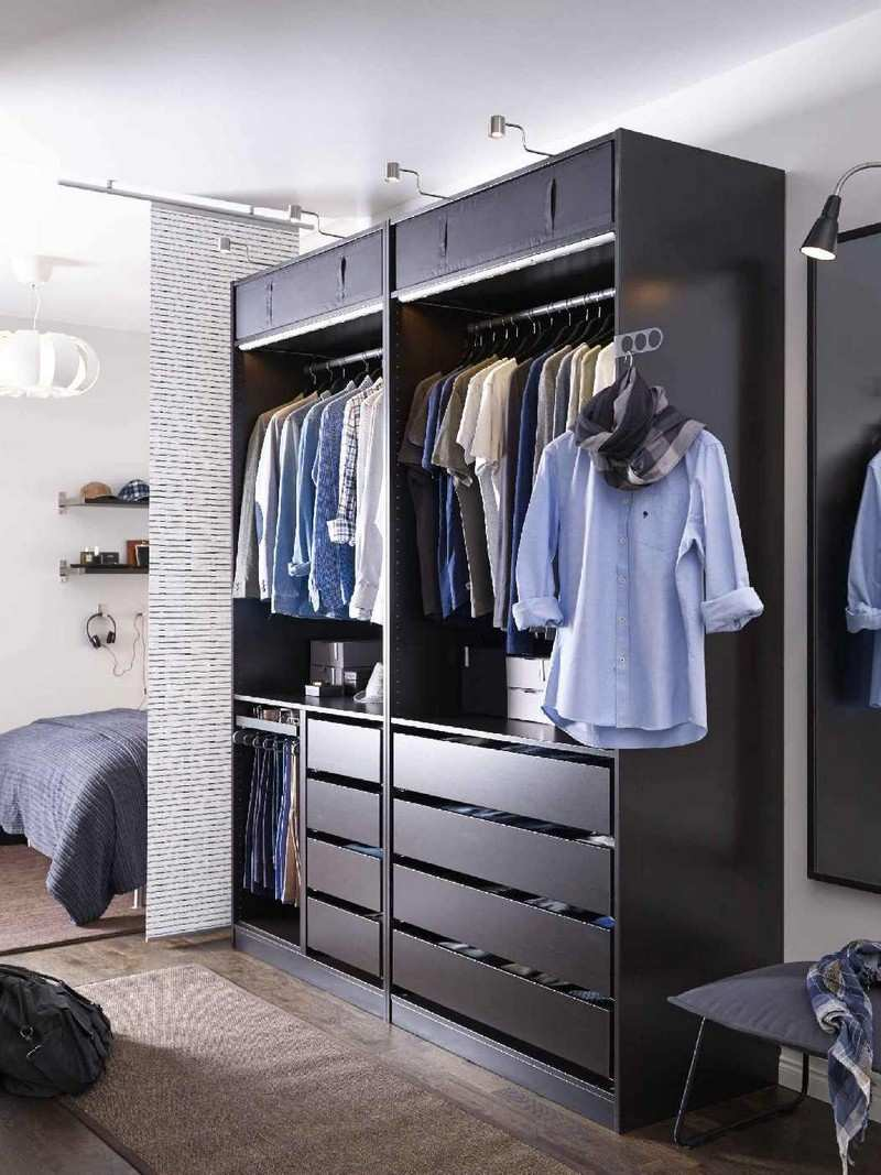 dressing pour petite chambre idees