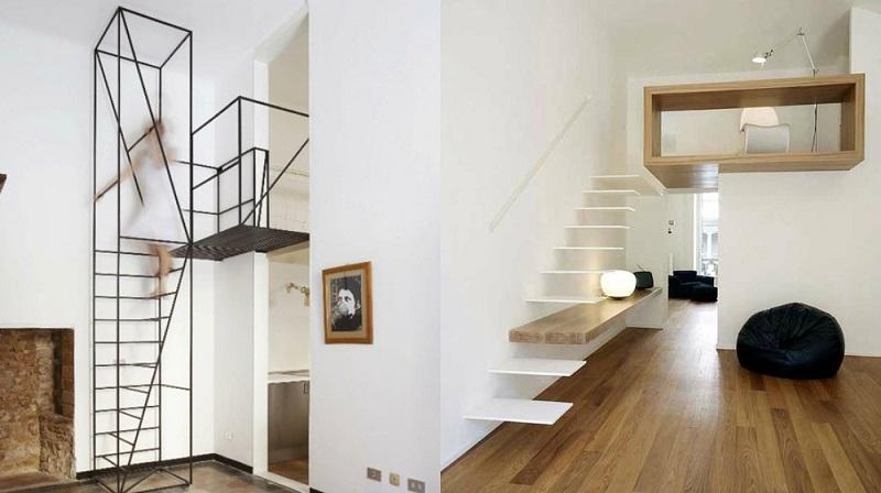 Escalier Gain De Place Et Ides Grande Hauteur Sous Plafond