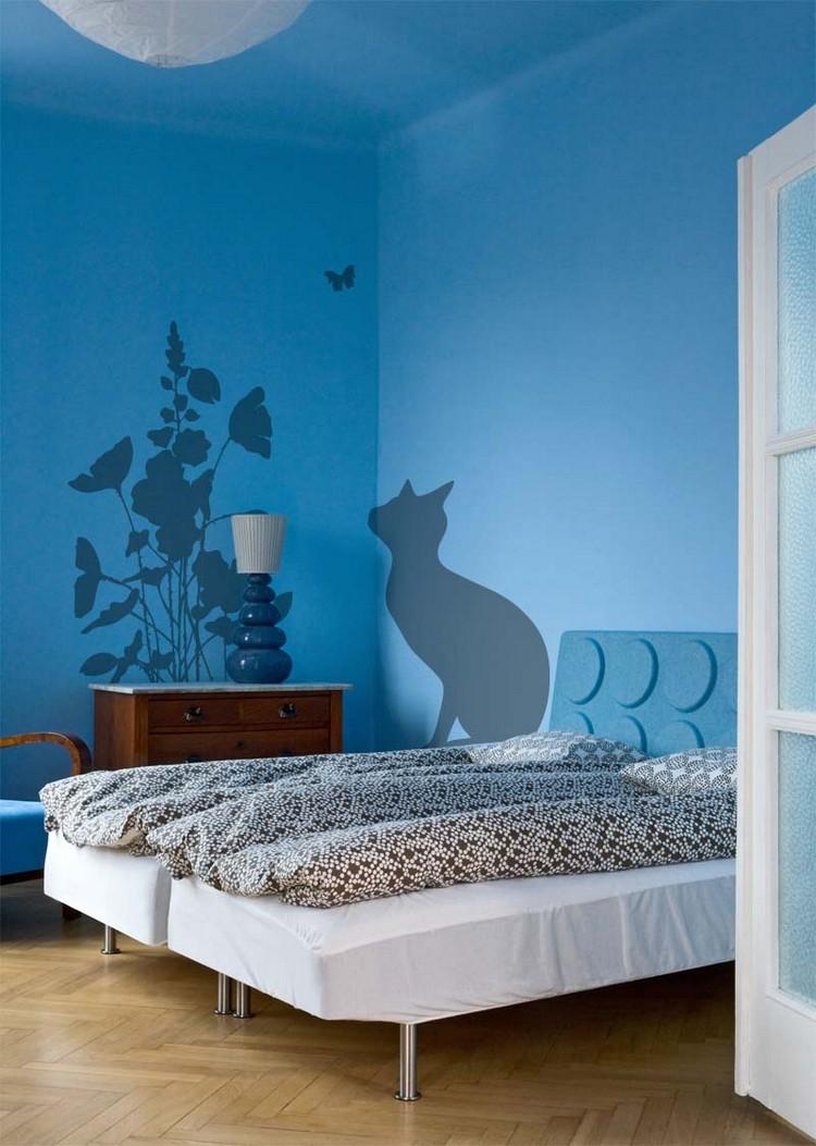 Peinture Dcorative Dessin Gomtrique Sublimez Les Murs