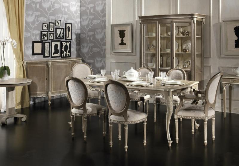 salle a manger baroque dans un