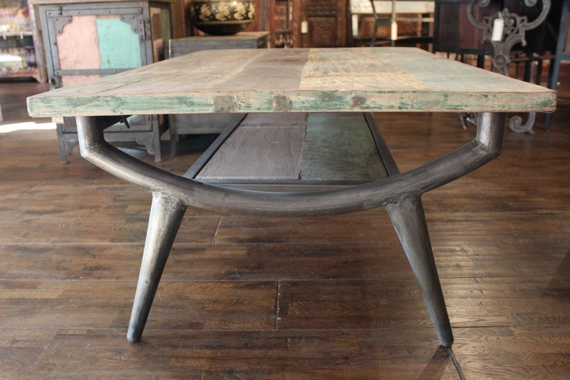 Table Basse Industrielle 40 Ides Vintage Ou Design Moderne