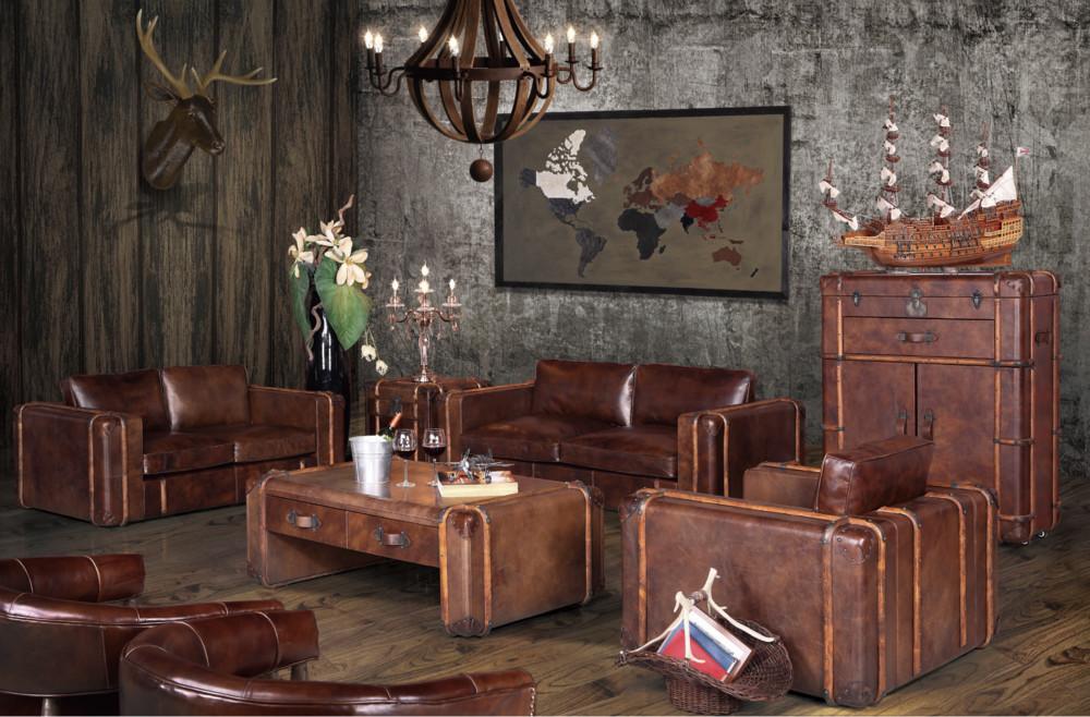 Canap Club Et Dco Vintage Dans Un Intrieur Moderne