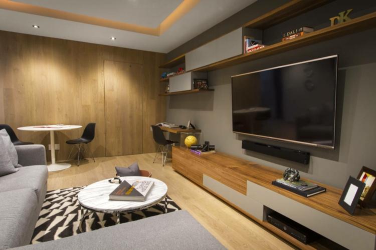 Amnagement De Bureau Moderne Dans Un Salon Design
