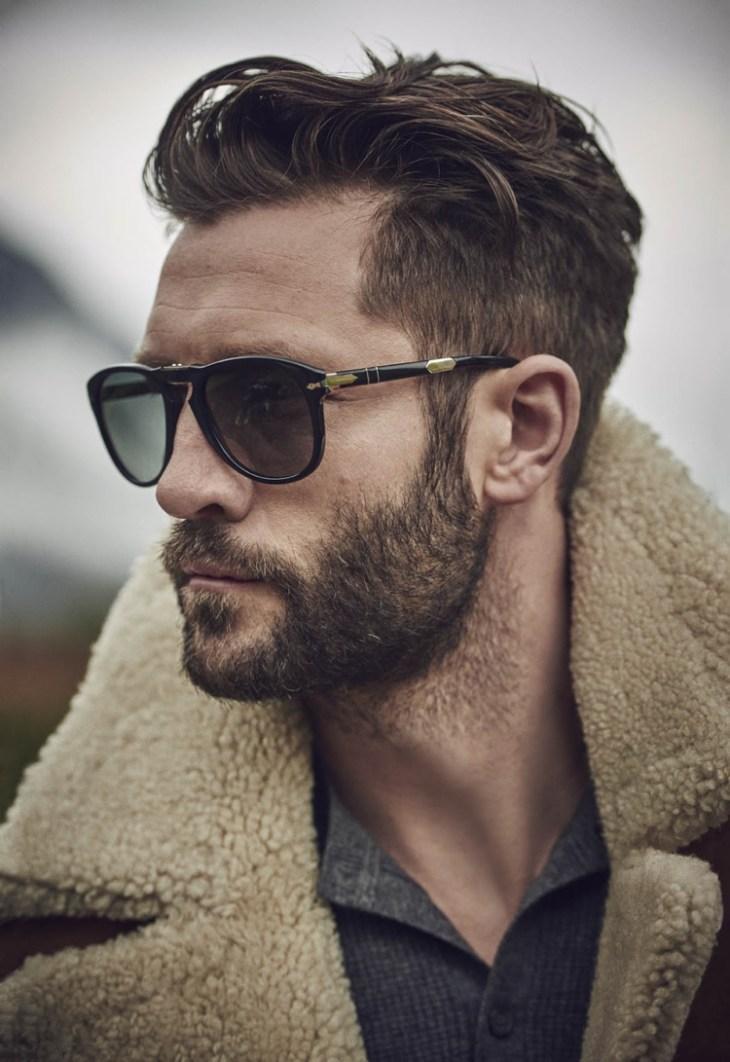coupe de cheveux homme 2016 -undercut-barbe