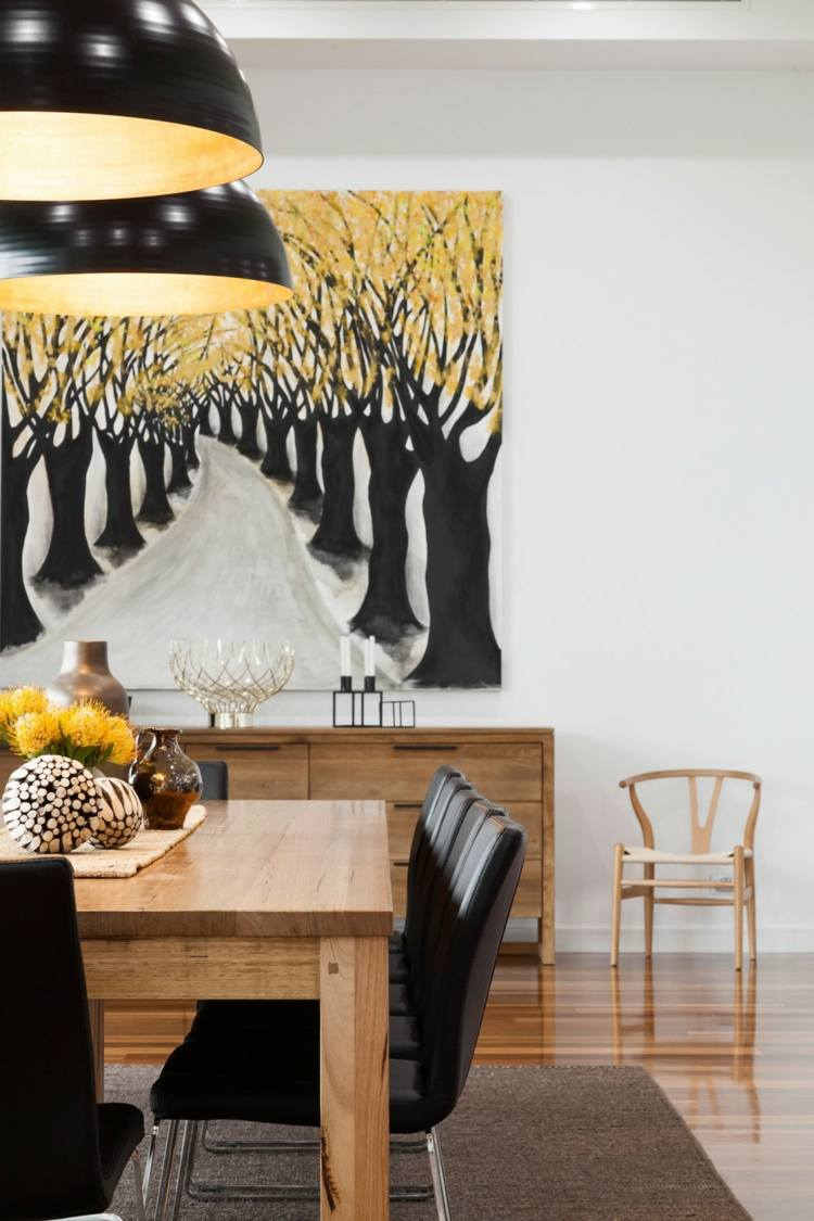 Maison Salle A Manger Noir Décoration de maison | Tendances ...