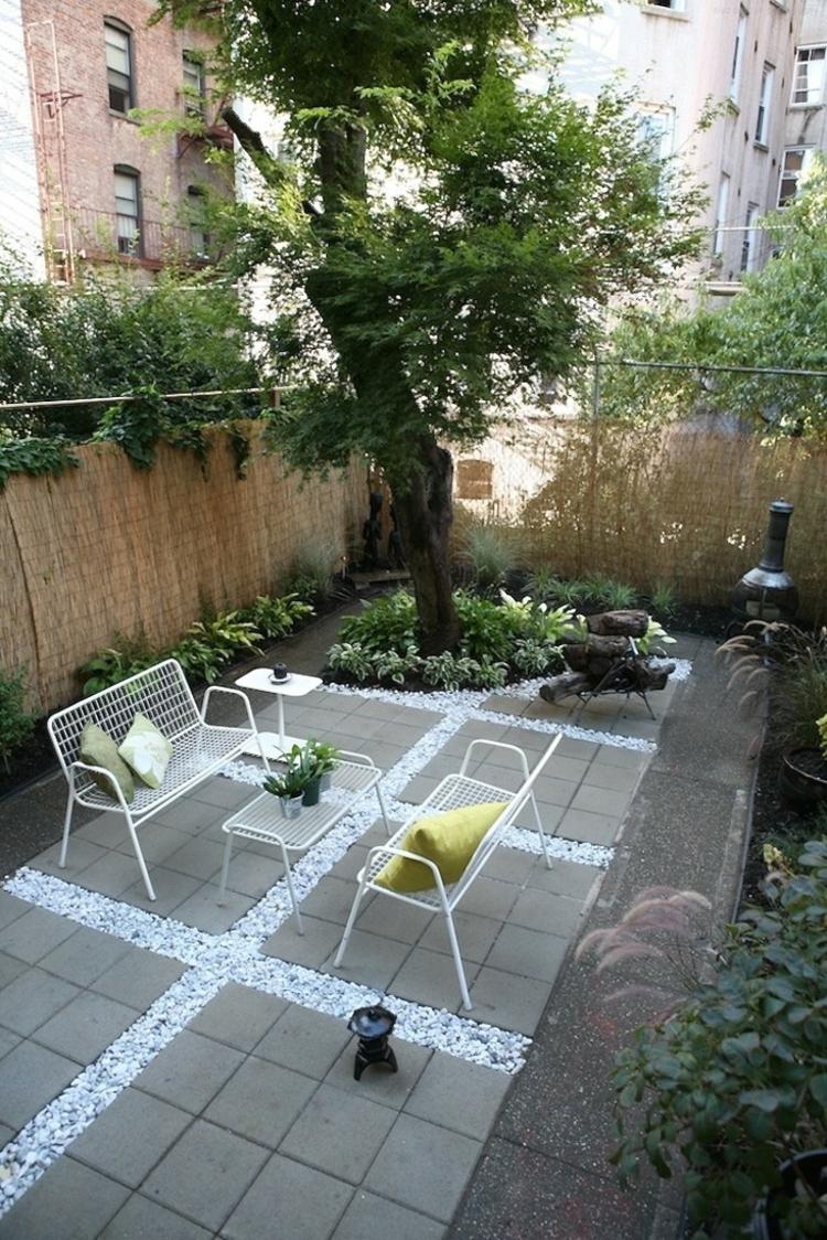 Dalles Terrasse En Bton Pour Sublimer Le Jardin Moderne
