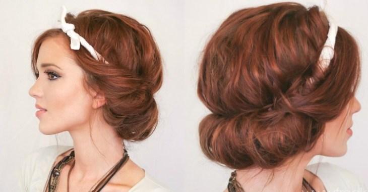 coiffure-vintage-élégante-négligée-gloss-nude-bijoux-assortis