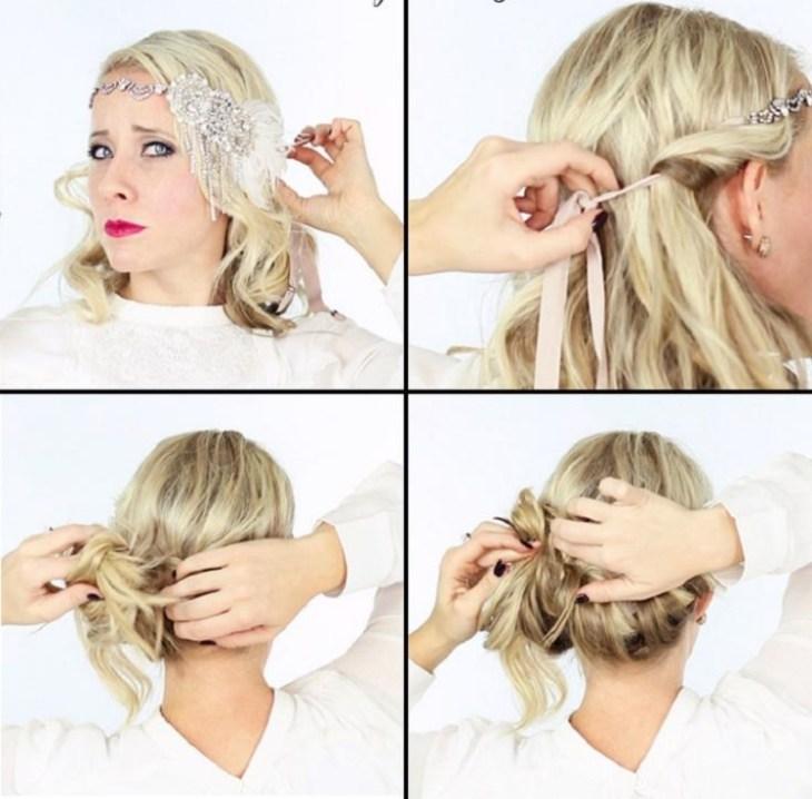 coiffure-vintage-faire-soi-même-chignon-simple-idées