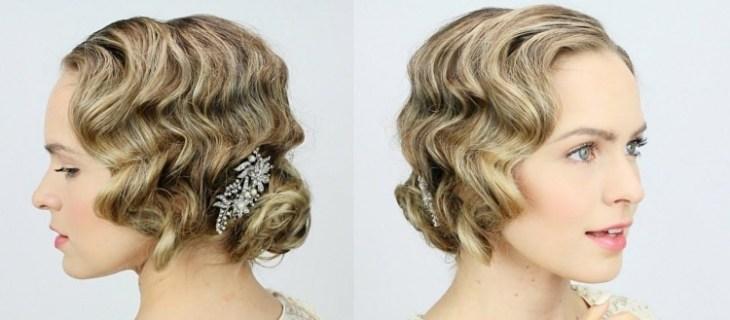 coiffure vintage idées-conseils-wasserwellen-boucles-bijou