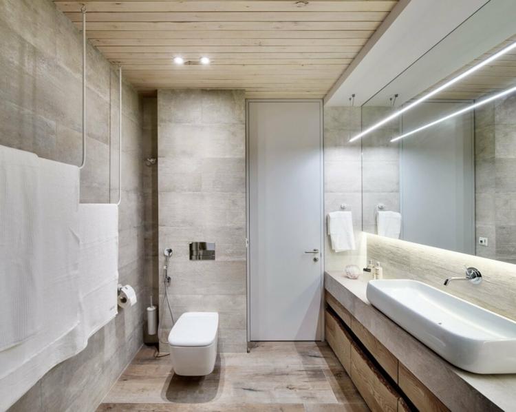 Intrieur Blanc Et Gris Moderne Dcor De Textures Organiques