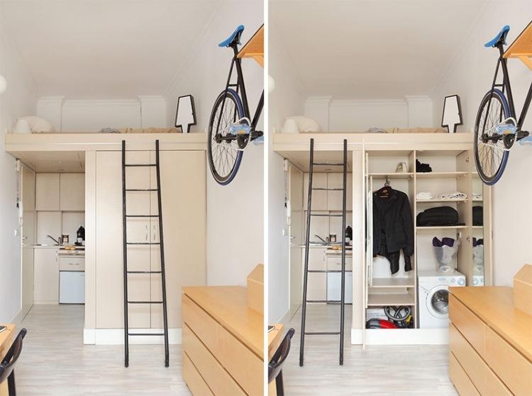 Lit Mezzanine 2 Places 9 Idees Gain De Place Chambre Adulte