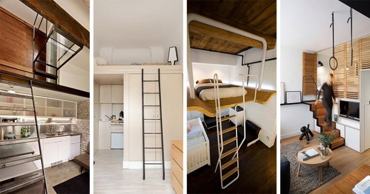 lit mezzanine 2 places 9 idees gain