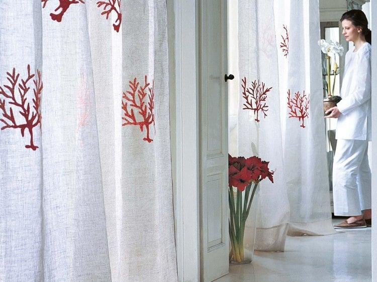 rideaux et voilages modernes en 30 idees top