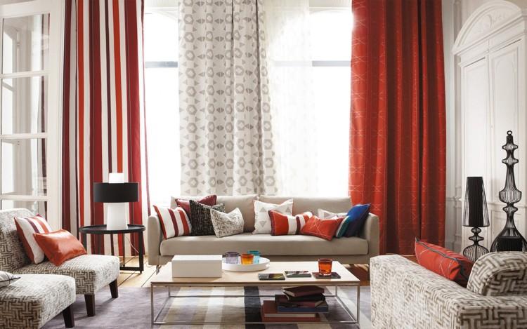 rideaux et voilages modernes en 30