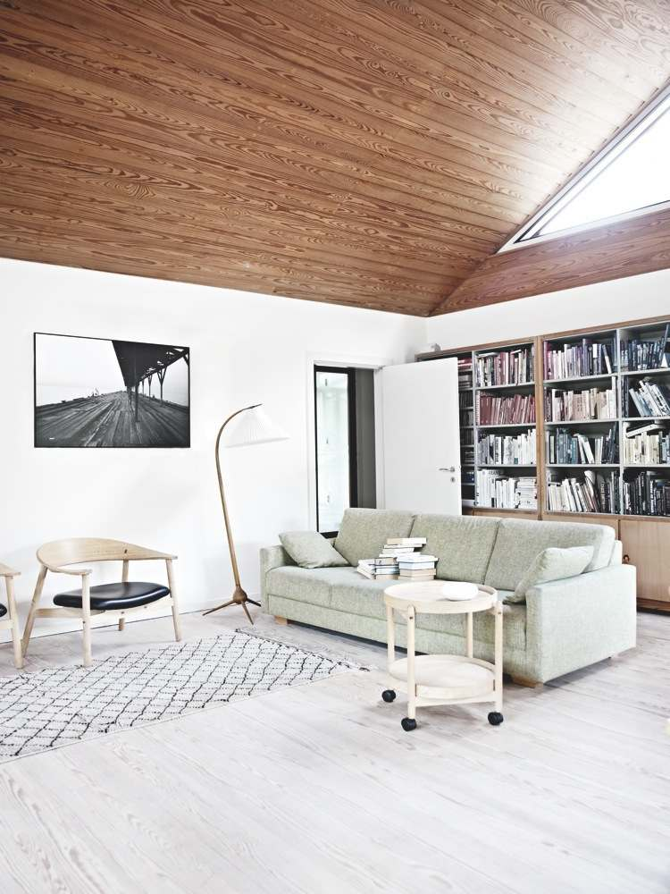 interieur blanc et bois 40 idees