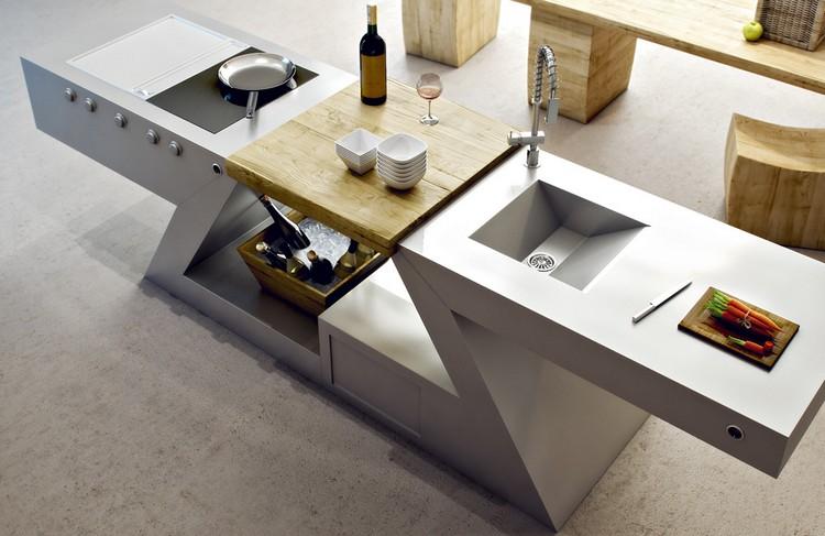 Meuble Kitchenette De Design Italien Pour Intrieur Et