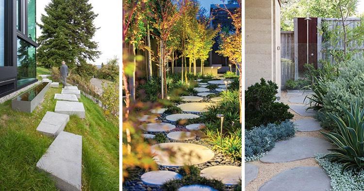 chemin de jardin en pas japonais 10
