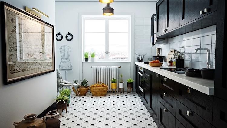cuisine blanc et noir 40 propositions