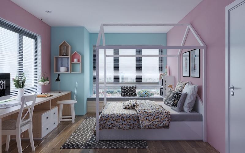 Emejing Chambre Rose Et Bleu Images House Design