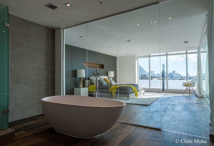 chambre avec salle de bain s inspirer