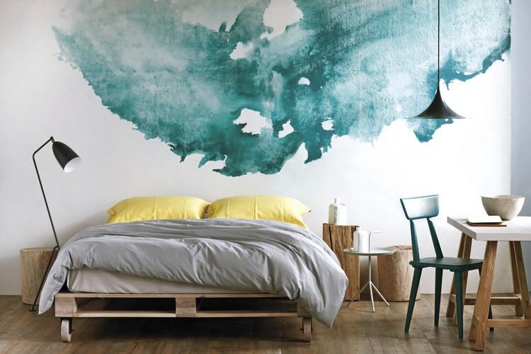 Peinture Leau Pour Crer Un Dcor Aquarell Et Une