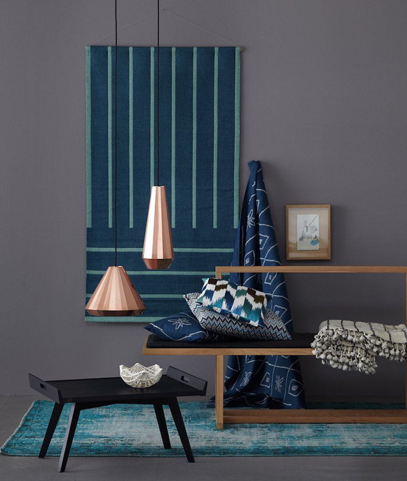 deco bleu canard idees sur la peinture murale les meubles et les objets deco