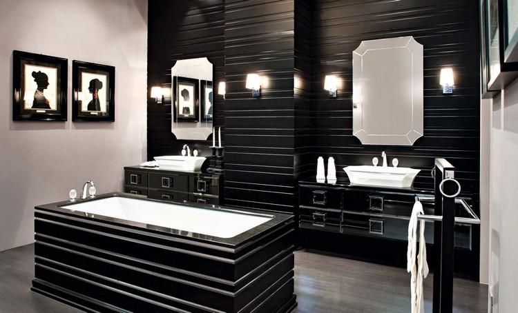 Meuble Salle De Bain Noir En 30 Idees D Amenagement Trendy