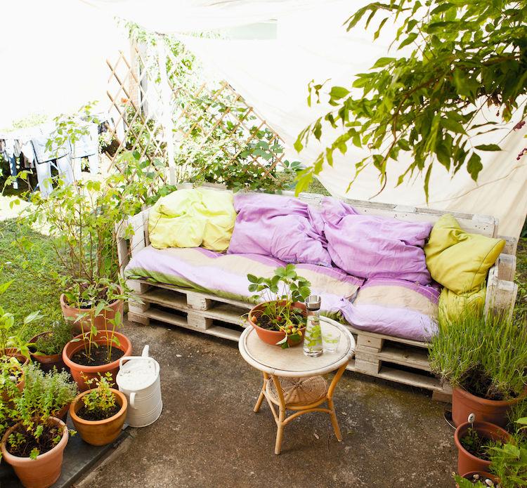 Fabriquer Salon De Jardin En Palette De Bois 35 Ides