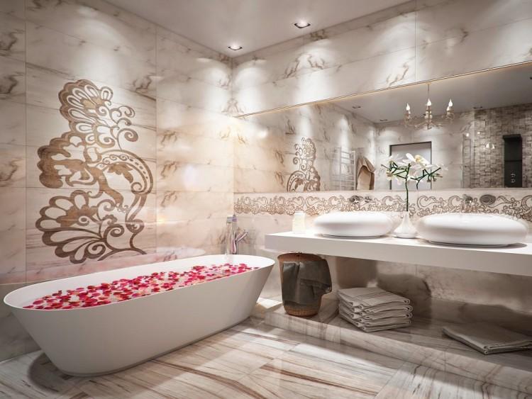agencement salle bain baignoire idees agencement salle de bain en 20 idees pour redorer son blason