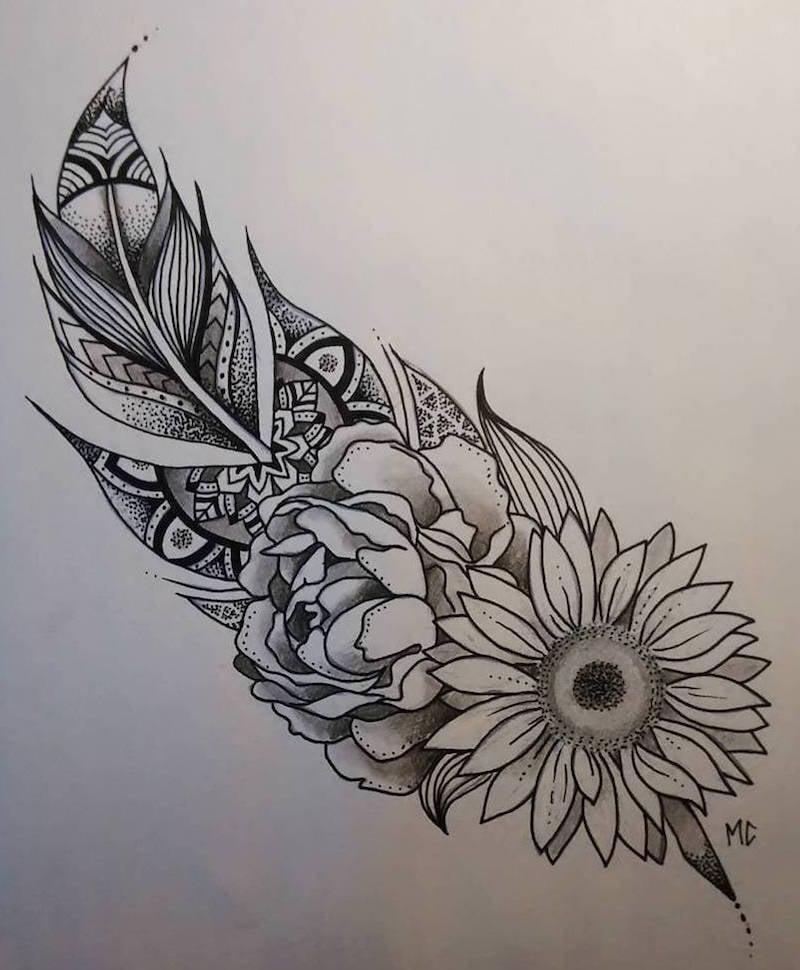 dessin tatouage femme et homme 40