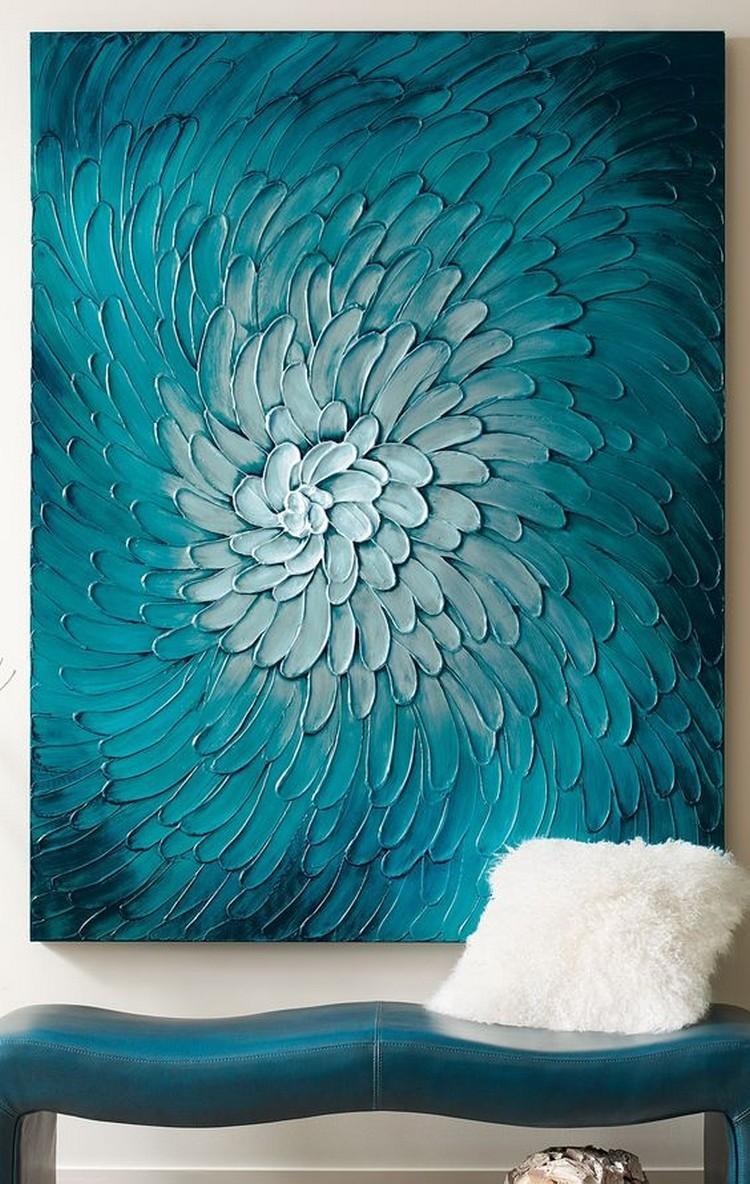 deco chambre avec un mur bleu canard unixpaint. Black Bedroom Furniture Sets. Home Design Ideas