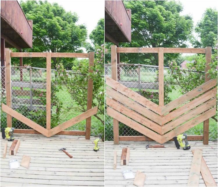 diy panneau bois exterieur a detourner