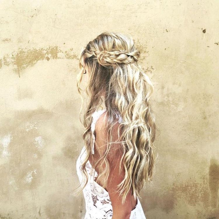 coiffure boheme mariage ou pour autre