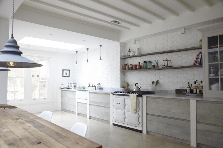 cuisine blanche en 100 idees tour d