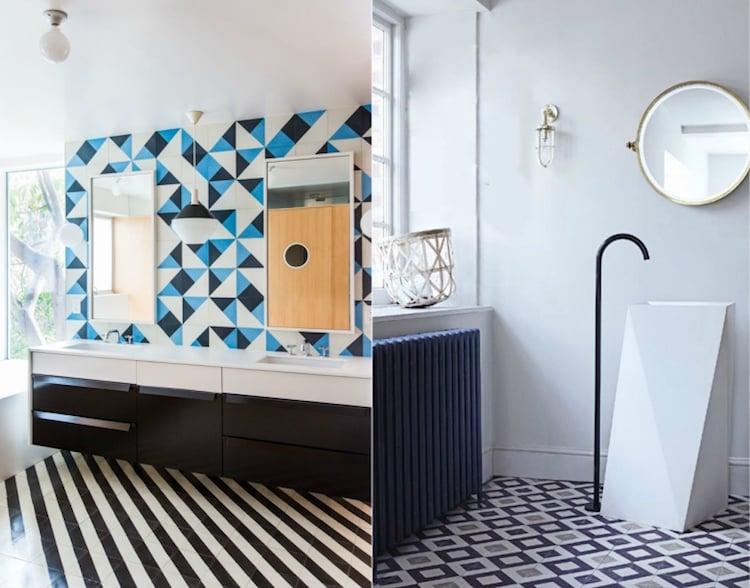 Salle De Bain Turquoise Et Noir Gallery Of Vasque Salle