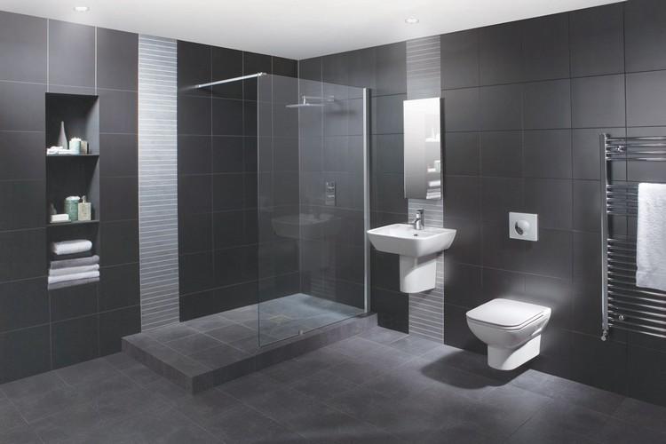 Carrelage Pour Toilette Trendy Vue Duensemble Des Wc With