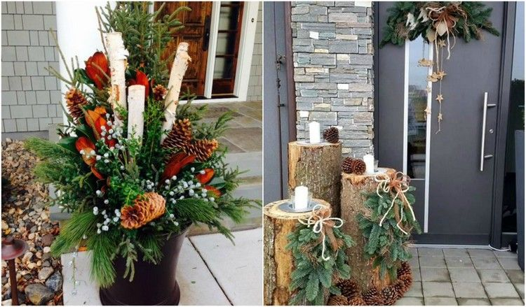 Decoration Noel Exterieur A Fabriquer Finest Deco Noel