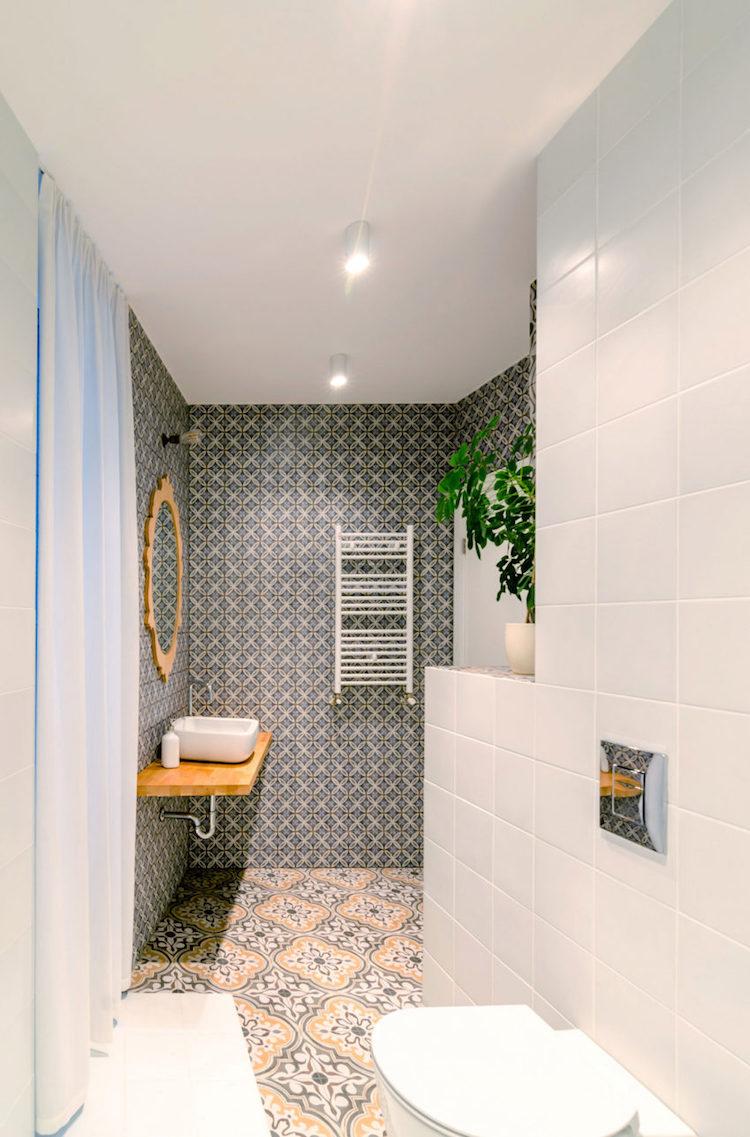 petite salle de bain moderne