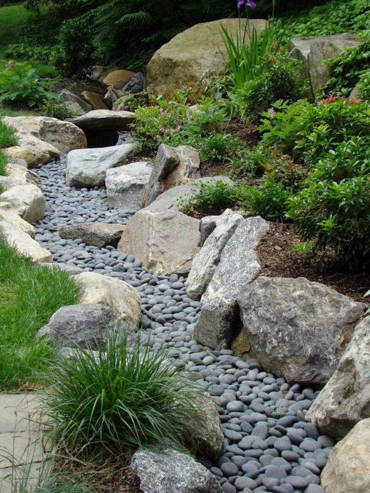 comment construire un ruisseau sec